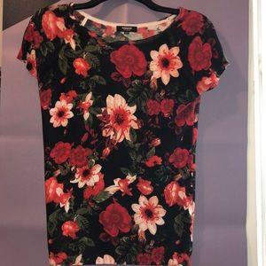 🌸 Floral Knit Top